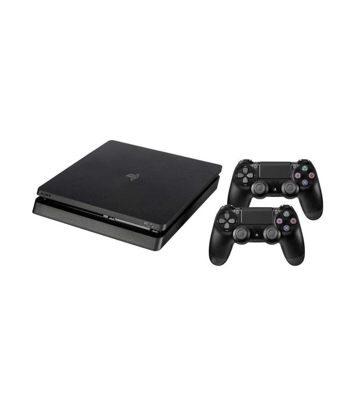 c632d4d087d PLAYSTATION 4 CONSOLE 500GB/SLIM BLACK 2 X DUALSHOCK SONY